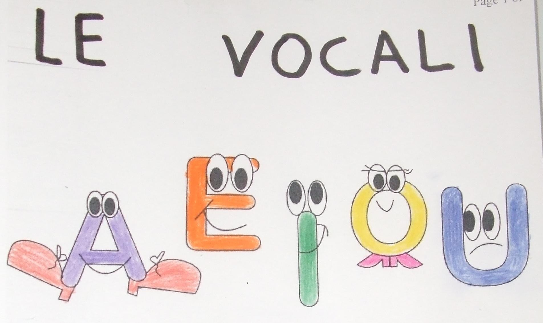 Famoso Finalmente le vocali.. QJ89